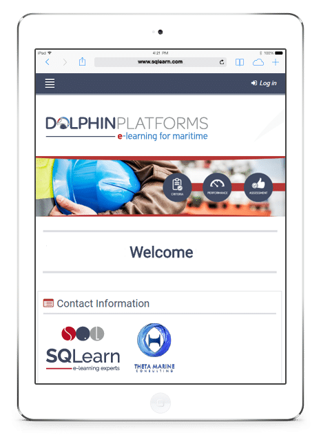 Dolphin Platforms: e-learning solutions for shipping